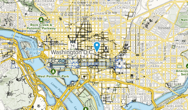 Best Trails in The Washington Mall: Smithsonian Grounds Park ... on dc trail map, dc street map, dc loop map, dc building map, dc silver line metro map 2015, washington dc map, dc land map, d.c. metro map, dc area and surrounding area map, dc hill map, dc food map, dc crime map, dc transit map, dc park map, dc playground map, dc art map, dc metro map with silver, dc on map, national monuments in dc map, dc us map,
