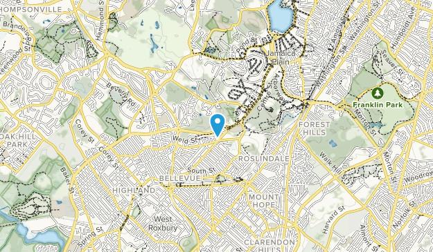Allendale Glen Park  Map