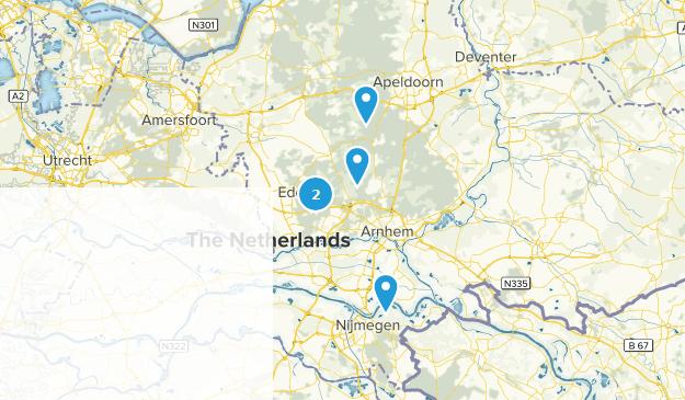 Nationaal Park de Hoge Veluwe Map