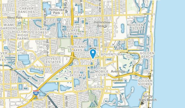 Highland Oaks Park Map