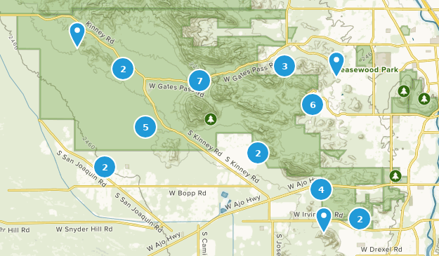 Tucson Mountain Park Map