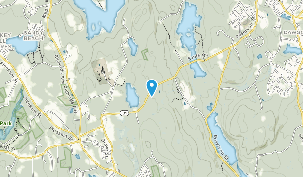 Porcupine Hill Map
