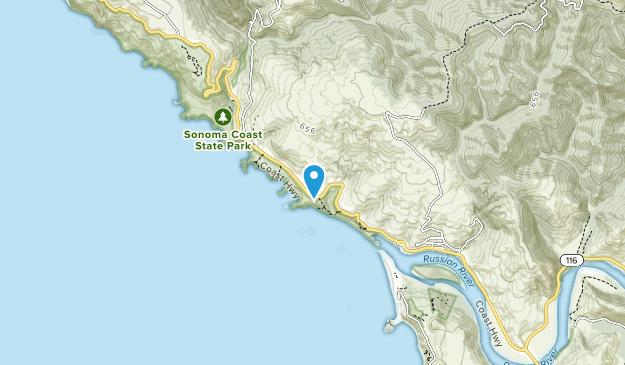 Jenner Headlands Preserve Map
