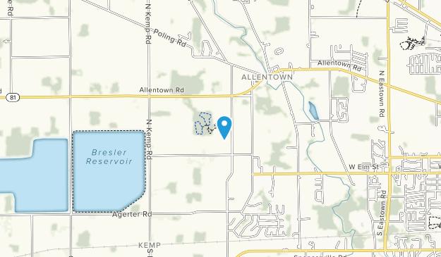 Hermon Woodlands Metro Park Map