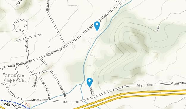 Jacob's Nature Park Map