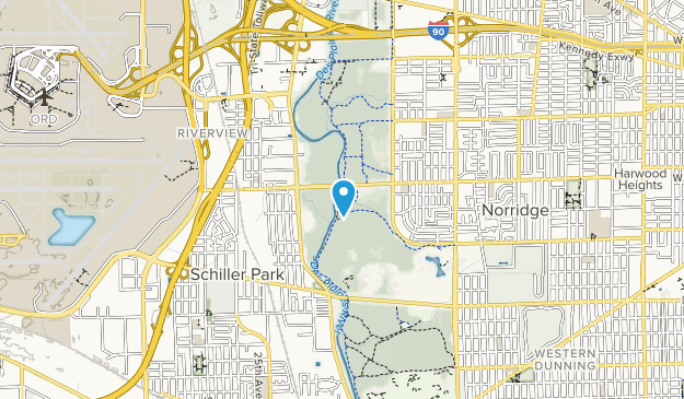 Robinson Woods South Map