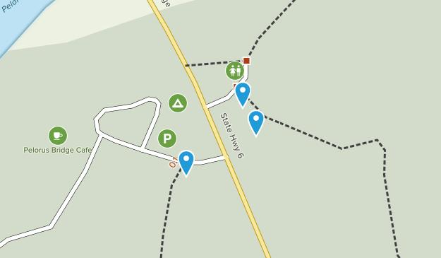 Pelorus Bridge Scenic Reserve Map