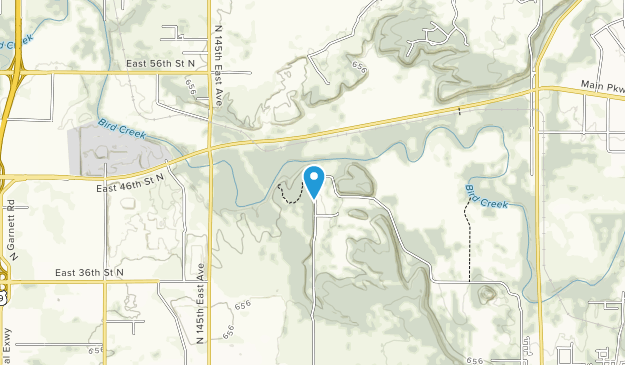 Redbud Valley Nature Preserve Map