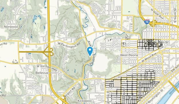 Rocky Glen Park Map