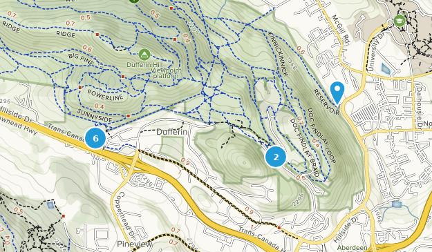 Kenna Cartwright Nature Park Map