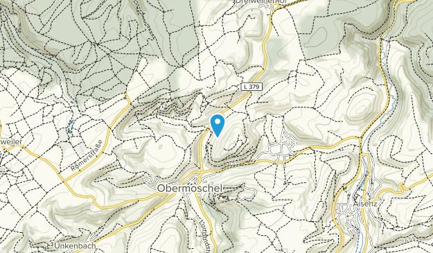 Soonwald-Nahe Nature Park Map