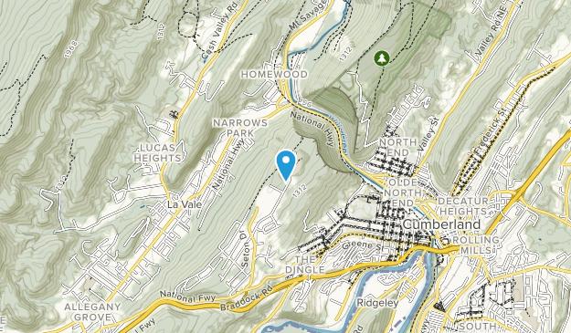 Narrows Scenic Park Map