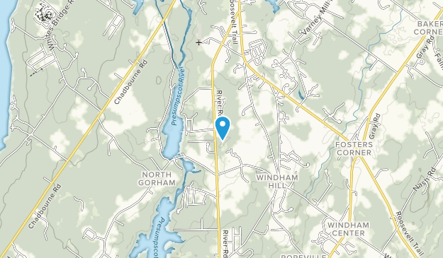 Otter Brook Preserve Trail  Map
