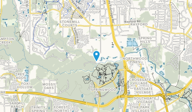 Montgomery County Nature Preserve Map