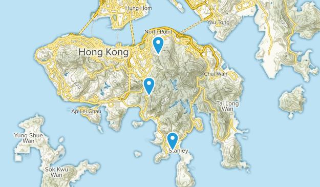 Tai Tam Country Park Map