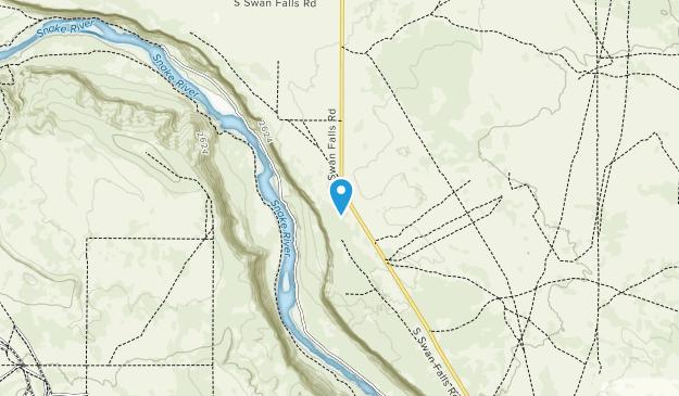Morley Nelson Snake River Birds of Prey National Conservation Area Map