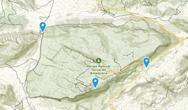 Parque Natural Torcal De Antequera Map