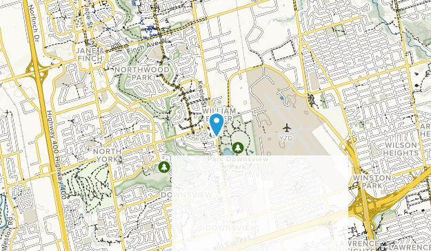 Downsview Park Map