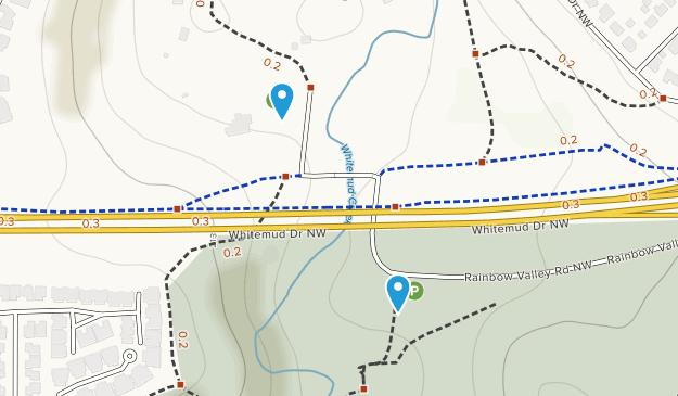 Whitemud Ravine Nature Reserve Map