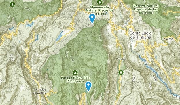 Pilancones National Park Map
