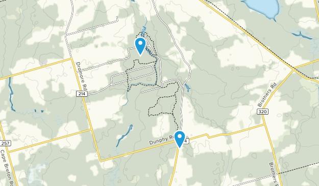 Dromore Woodland Trails Map