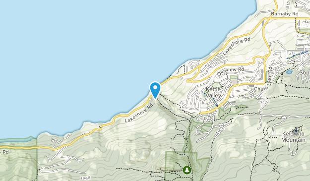 Lebanon Creek Greenway  Map