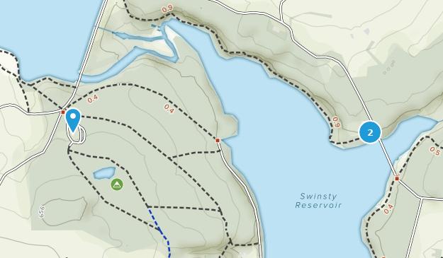 Swinsty Moor Plantation  Map