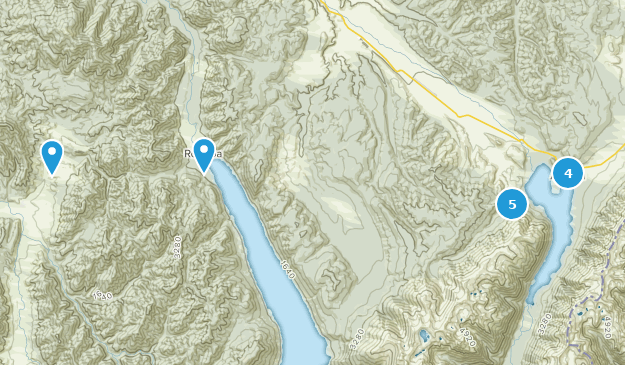 Nelson Lakes National Park Map