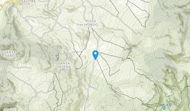Parque Nacional Natural Chingaza Map