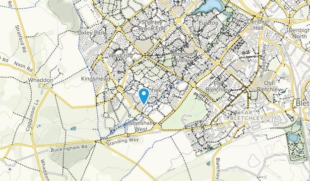 Map Of England Milton Keynes.Best Trails In Tattenhoe Valley Park Milton Keynes England