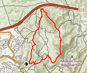 Fortuna Mountain Trail Map