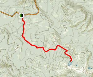 Ostrander Lake Trail Map