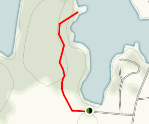 Kingsland Bay Trail Map
