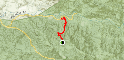 Snyder Trail Map