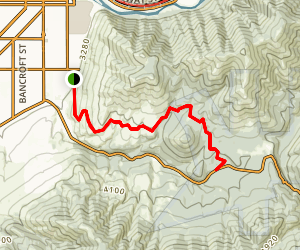 Pattee Canyon Trail Map