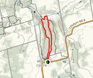 The South Outlier Loop Trail Map