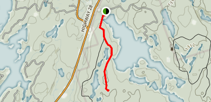 Lakehead Trail Map