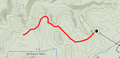 Good Spring West Trail Map