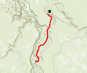 Lambert Rocks Trail Map
