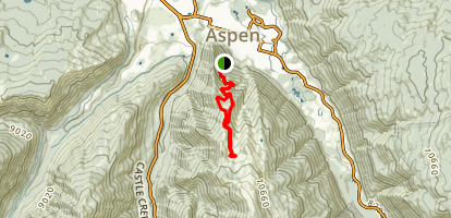 Aspen Mountain Trail Map