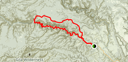 Meadows Hells Hole Loop Trail Map