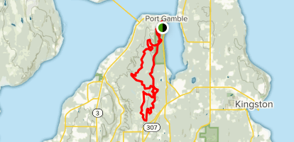 Port Gamble Washington Map.Port Gamble And Poulsbo Washington Alltrails