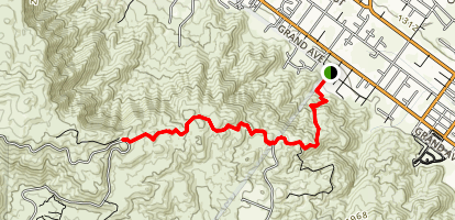 Wildomar Truck Trail [CLOSED] Map