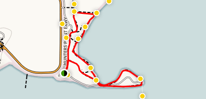 Candlestick Point Map