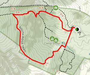 South Ridge Trail Loop Map