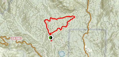 Dead Giant Loop Trail Map
