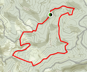 Teeter Creek Loop Trail Map