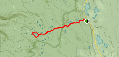 Mink Lake Loop Trail Map