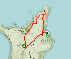Arch Point Loop Trail Map