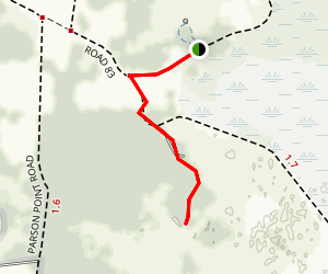 Parsons Point Trail Map
